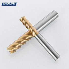 E-BOAT 伊伯特合金钢镀钛铣刀